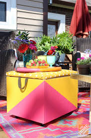 diy ideas for a loud laid back patio makeover diy rolling cooler ottoman ad small furniture ideas pursue