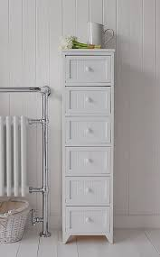 floor standing bathroom cabinet drawers maine narrow tall freestanding bathroom cabinet with  drawers for stor