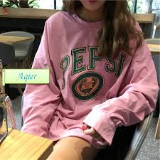 Women's wear <b>early autumn Korean version</b> loose long sleeves thin ...