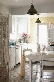 shabby chic fireplace kitchen shabby chic style with dining table dining table awesome shabby chic style