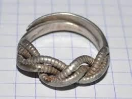 Витое кольцо КР. Серебро., фото 3 | Кольца, Серебро, Викинги