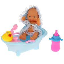 <b>Пупс</b> 14 см, <b>Карапуз</b>, <b>ванночка</b> в комплекте — купить в интернет ...