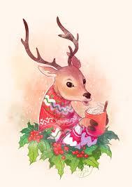 <b>Christmas Deer</b> - Victoria Kosheleva