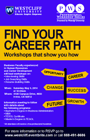find your career path attend our upcoming workshop and new at your career path