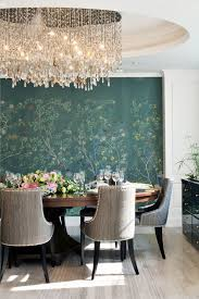 mural modern dining room hand painted wall murals dining room traditional with centerpiece chan