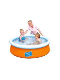 Детский круглый <b>бассейн</b> Fast Set 152х38 см, 477 л Bestway ...