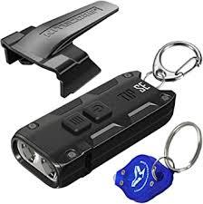 <b>Nitecore Tip SE</b> Black 700 Lumen USB-C Rechargeable EDC ...