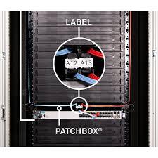PATCHBOX Identification Labels <b>96pcs</b> | PATCHBOX | Cable ...