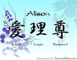 Image result for meanings of the name alison