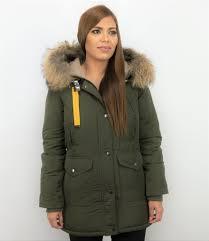 Macleria Fur Collar Coat - <b>Women's Winter Coat Long</b> - Parka ...