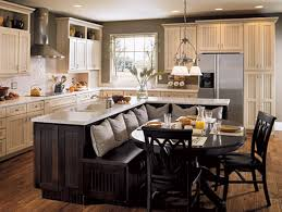 countertops dark wood kitchen islands table:  elegant kitchen island table combo ideas white seamless granite kitchen countertops grey metal range hood black