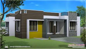 Small Modern House Plans One Floor Comfortable Single Floor        Story House Small Modern House Plans One Floor Delightful Sq Ft House With Provision For Stair