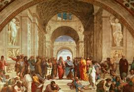 the christian worldview versus the greek the bully pulpit raphael s school of athens