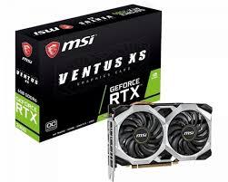 6G <b>RTX 2060</b> Ventus XS OC <b>PCI</b>-<b>E</b> VGA Card