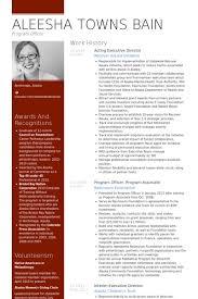 executive director resume samples   visualcv resume samples databaseacting executive director resume samples