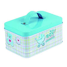 Storage Boxes <b>Cute Animal Style</b> Metal Cookie Candy Nut Gift Tin ...