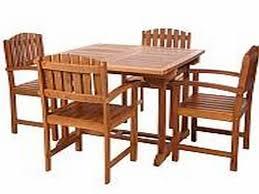 patio table sets teak furniture home