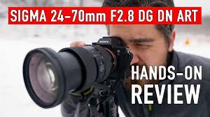 <b>Sigma 24</b>-<b>70mm F2</b>.<b>8 DG</b> DN Art Hands-on Review - YouTube