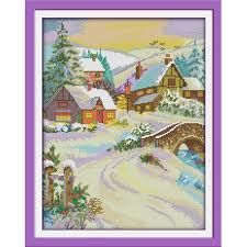 <b>Everlasting love</b> Gorgeous <b>snow</b> covered landscape Chinese cross ...