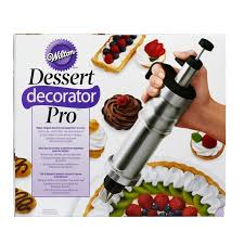 <b>Dessert</b> Decorator Pro <b>Stainless Steel</b> Cake Decorating Tool | Wilton