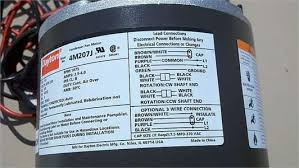 emerson motor wiring diagrams wiring diagram schematics wiring diagram for dayton fan motor 4m205j fixya