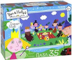 <b>Пазл ОРИГАМИ</b> Бен и Холли Пикник <b>35 элементов</b> — купить ...