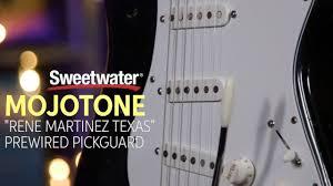 "Mojo Tone ""Rene Martinez Texas"" Strat Pickup <b>Prewired Pickguard</b> ..."