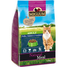 <b>Сухой корм MEGLIUM Natural</b> Meal Cat Adult Chicken, Beef ...
