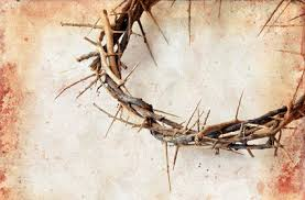 Image result for nail in wood with christ's blood