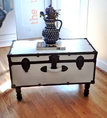 room vintage chest coffee table: white chest coffee table vintage