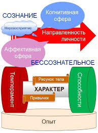 Элементы структуры личности в психологии