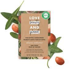 <b>Shea Butter</b> & Sandalwood <b>Bar Soap</b>| Love Beauty and Planet