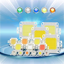 High Power LED Chip 1W <b>3W 5W 10W 20W</b> 30W 50W 100W COB ...