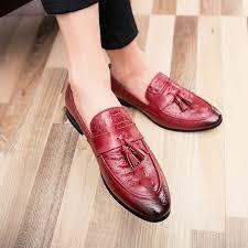 MXL <b>Mens</b> Business <b>PU Leather</b> Shoes Classic Slip-on Loafers ...