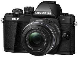 <b>Olympus OM</b>-<b>D E</b>-<b>M10</b> Mark II Kit 14-42 II R, Black цифровая ...