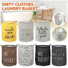 <b>Foldable</b> Dirty Clothes Storage Bag Laundry Basket Hamper ...