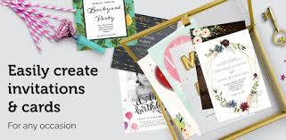 <b>Invitation</b> maker & Card design by Greetings Island - Apps on ...