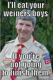 Harmless Scout Leader memes | quickmeme via Relatably.com