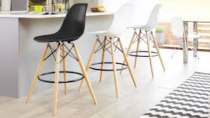 Home, Furniture & DIY Modern <b>2 Pcs Bar Stools</b> Seat Breakfast ...