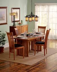 arroyo craftsman dining room traditional with area rug buffet chandelier dining table high back chairs light arroyo craftsman lighting