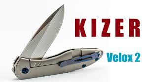 <b>Складной нож Kizer</b> Velox 2 - YouTube