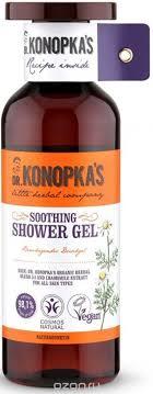 <b>Dr</b>.<b>Konopka's</b> / <b>Гель для душа</b> «Успокаивающий», 500 мл ...