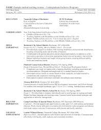 teaching experience resume college teaching experience on resume resume examples elementary student teaching resume template for substitute teaching experience on resume teaching practicum experience