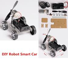 <b>MINI 4 wheel Windmilling DIY</b> Robot Smart Car Chassis Kits Car ...