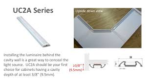 under cabinet lighting uc2a series from iluxx installation guide cabinet lighting guide