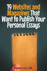 websites and magazines that want to publish your personal essays must personal essay b j epstein s how i m trying to teach charity to my toddler