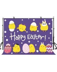 New Deal Alert! ABPHOTO Polyester <b>7x5ft Happy Easter Backdrop</b> ...