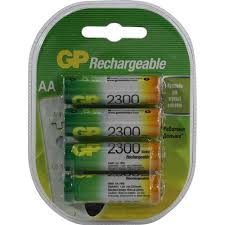 <b>Аккумулятор GP 230AAHC</b>-4 4 шт. — купить, цена и ...