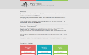 ideation project wave twister wireframing 2