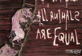 animal farm on thebeastofliterature amanda jackson 10 2 animal farm illustration 2